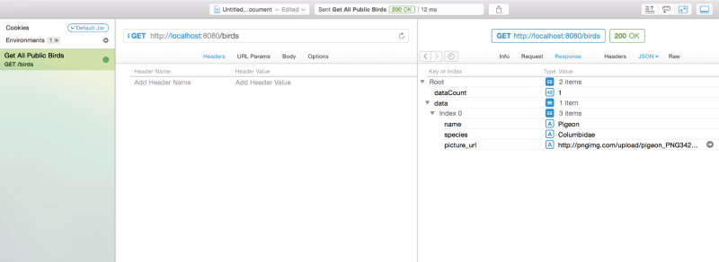 Making a RESTful API with Hapi.js