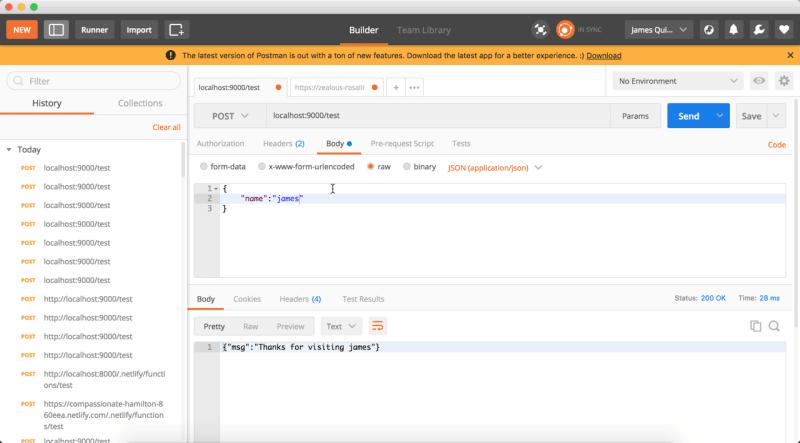 Viết và Deploy một Lambda Function trên Netlify