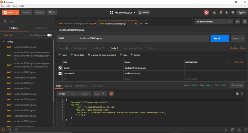 How to create API authentication for an API using JWT's and Passport ✌️