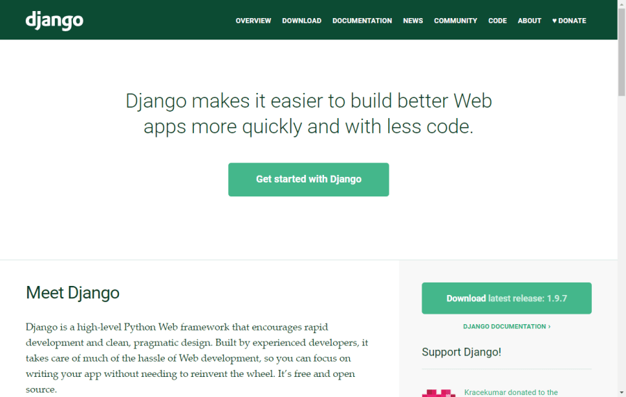 Build Your First Python and Django Application ― Scotch io