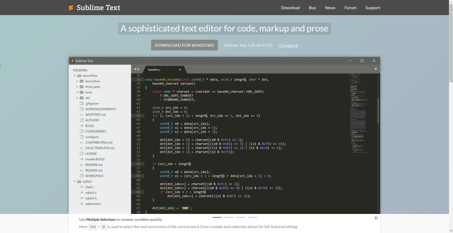 Sublime Text 3 Out of Beta! Main Features and More ― Scotch io