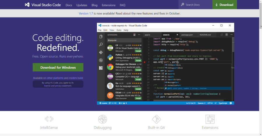 Best of Visual Studio Code: Features, Plugins, Acting Like Atom and