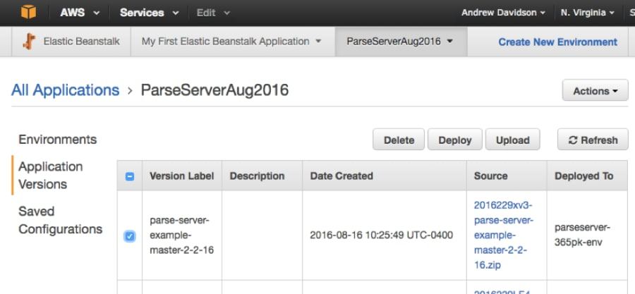 Building a New Parse Server & MongoDB Atlas-Based