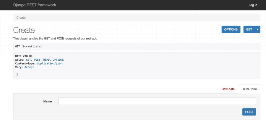 Build a REST API with Django – A Test Driven Approach: Part