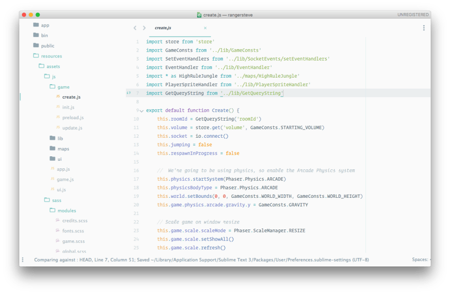 Best Sublime Text 3 Themes of 2015 and 2016 ― Scotch io