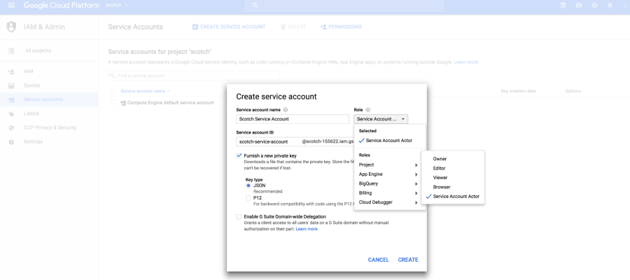 Google Cloud Platform II: Continuously Deploying A Docker