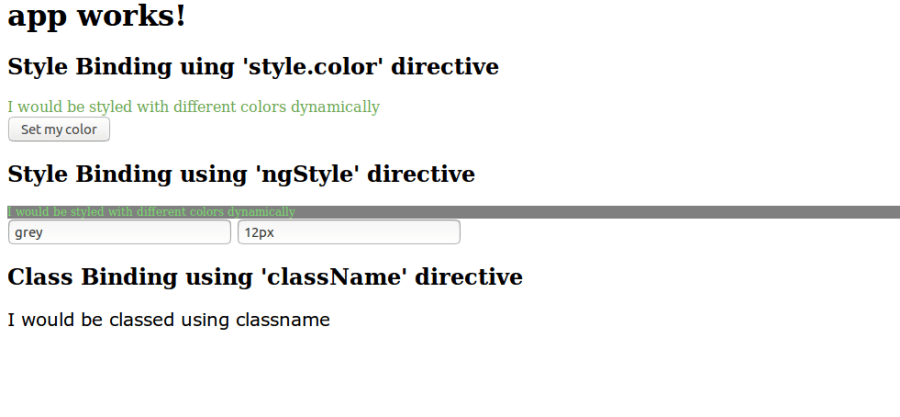 Angular 2+ Classes with NgClass and NgStyle ― Scotch io