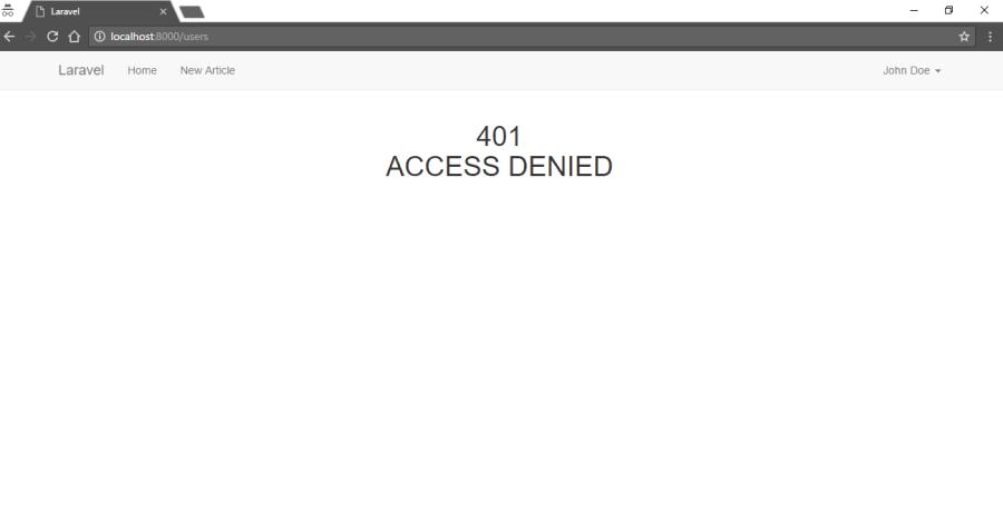 User Authorization in Laravel 5.4 with Spatie Laravel-Permission ― Scotch.io