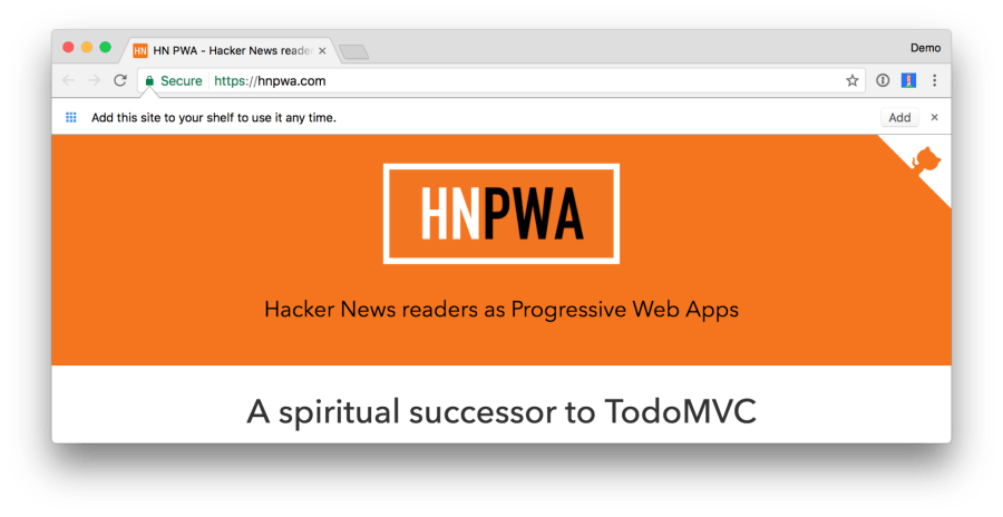 The Ultimate Guide to Progressive Web Applications ― Scotch io