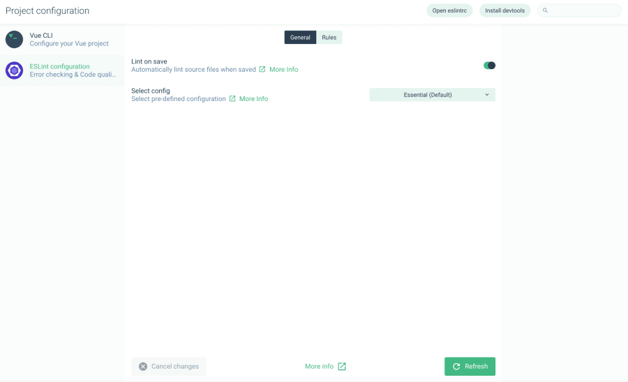 Create Vue Apps Visually with the Vue CLI User Interface