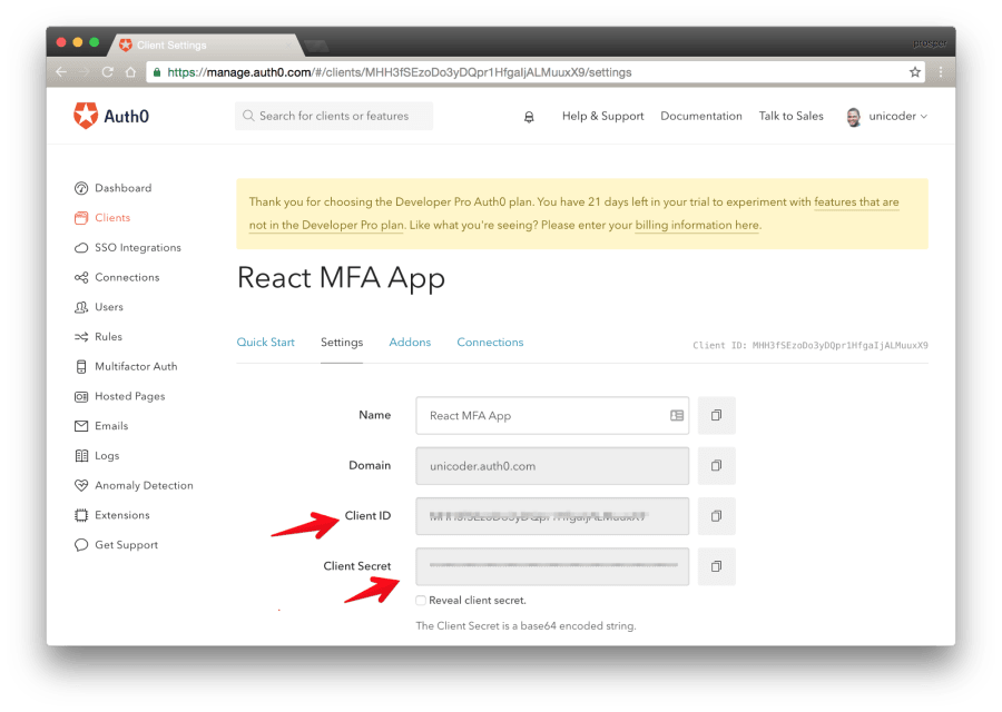 Multifactor Authentication in your React Apps ― Scotch io