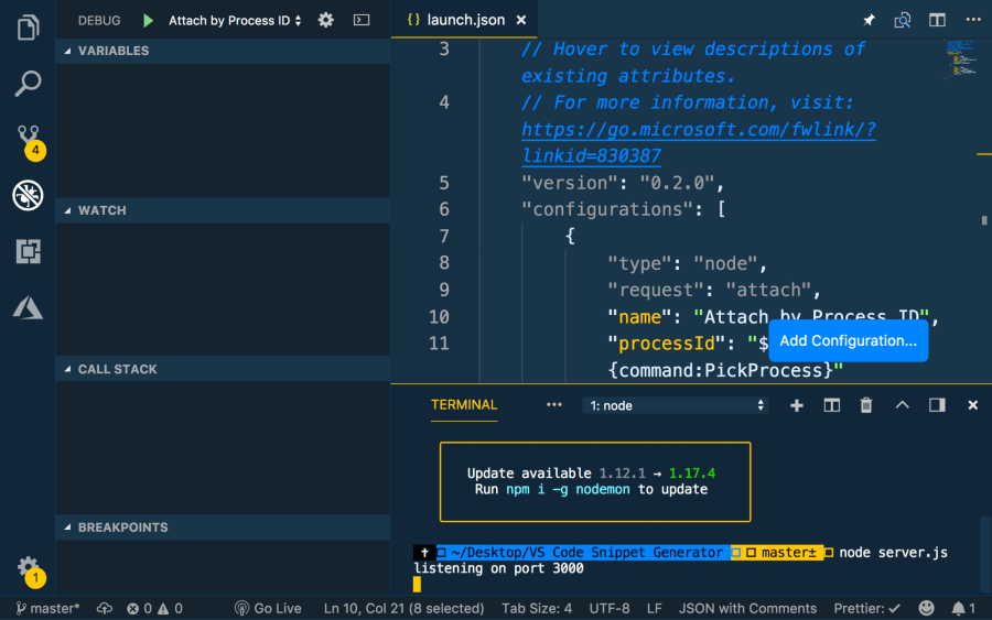 Getting Started with Live Coding in Visual Studio Code w
