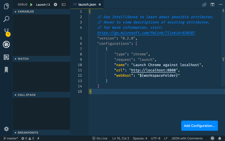 Debugging Angular CLI Applications in Visual Studio Code ― Scotch io