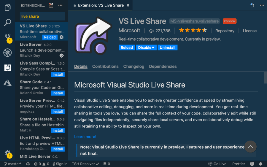Getting Started with Live Coding in Visual Studio Code w/ Live Share