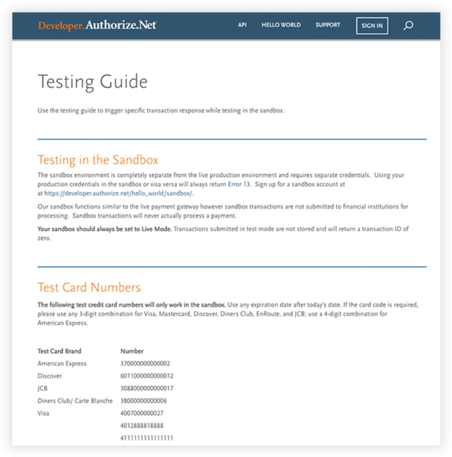 Customize Payment Solutions with Enhanced API, Sample Code
