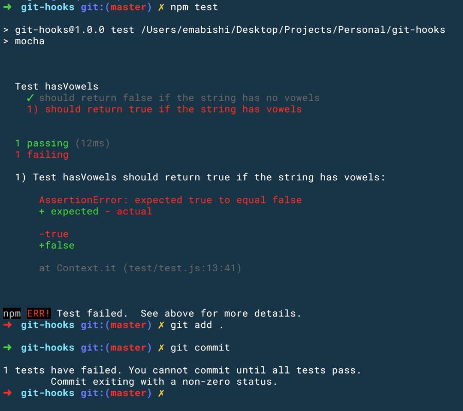 Using Git Hooks in Your Development Workflow ― Scotch io