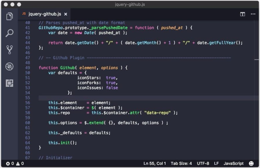 Best VS Code Themes of 2017 ― Scotch io