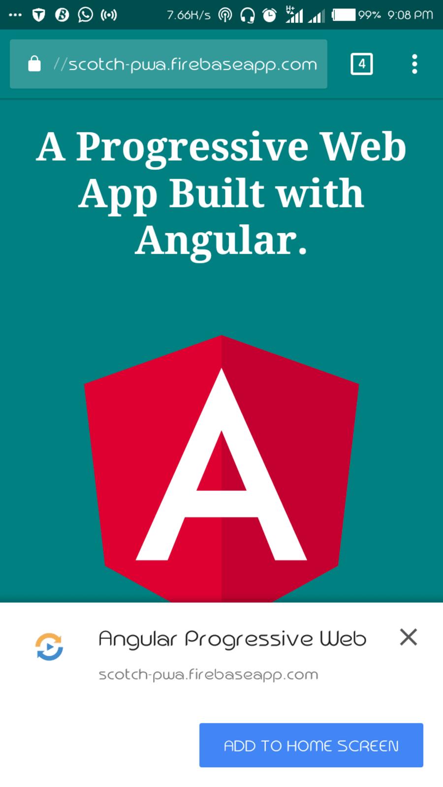 How to build Progressive Web Apps with Angular  ― Scotch io