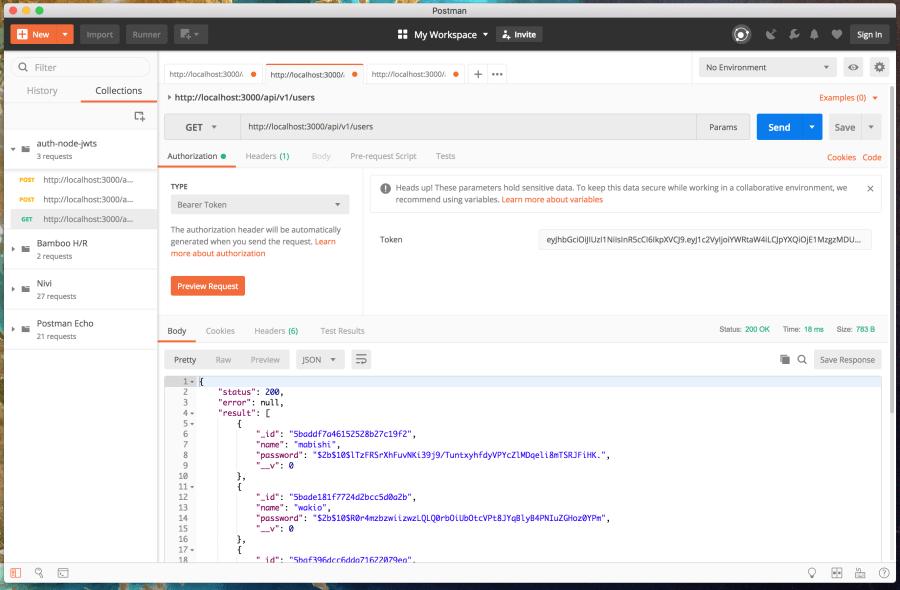 Authenticate a Node ES6 API with JSON Web Tokens ― Scotch io