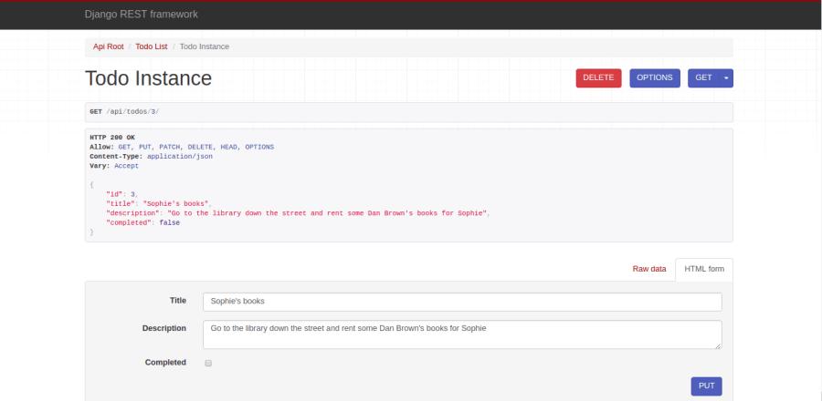 Build a To-Do application Using Django and React ― Scotch io