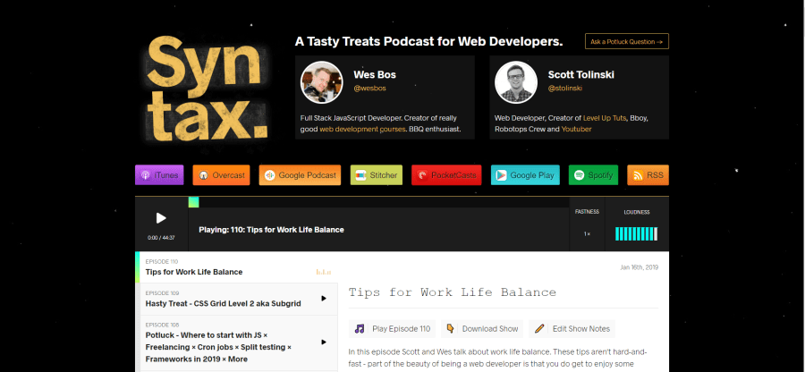 Top 10 Podcasts for Web Developers ― Scotch io