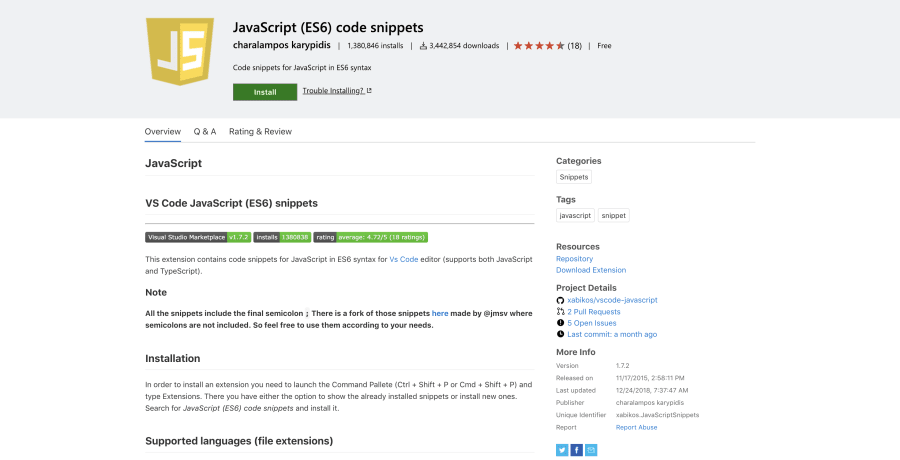 11 Awesome JavaScript Extensions for Visual Studio Code