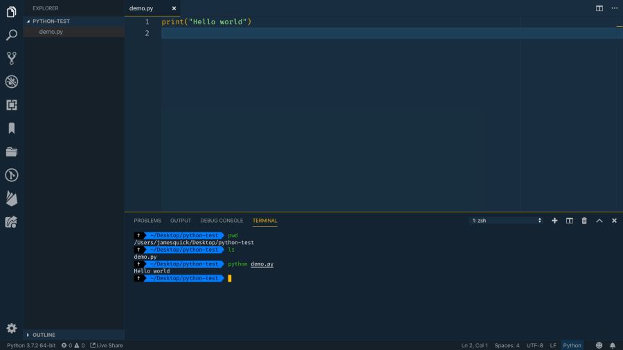 Getting Started with Python in Visual Studio Code ― Scotch io