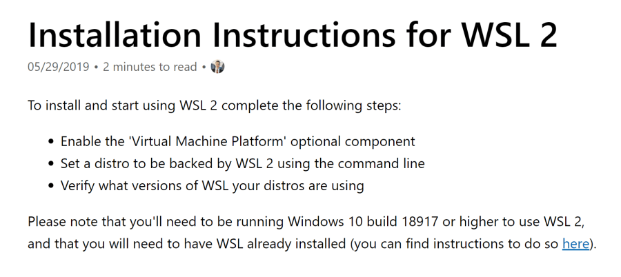 Trying the New WSL 2  It's Fast! (Windows Subsystem for