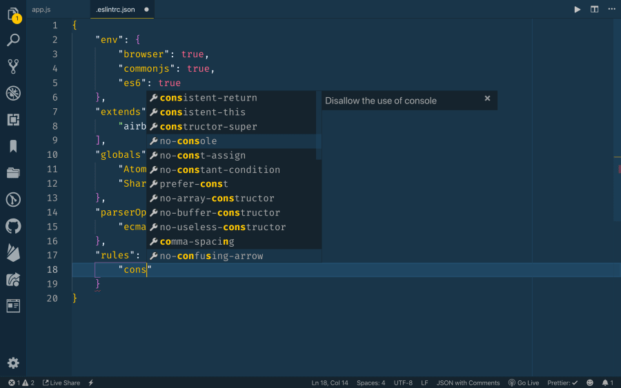 Linting and Formatting with ESLint in VS Code ― Scotch io