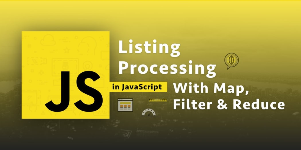 javascript functional programming explained list processing with