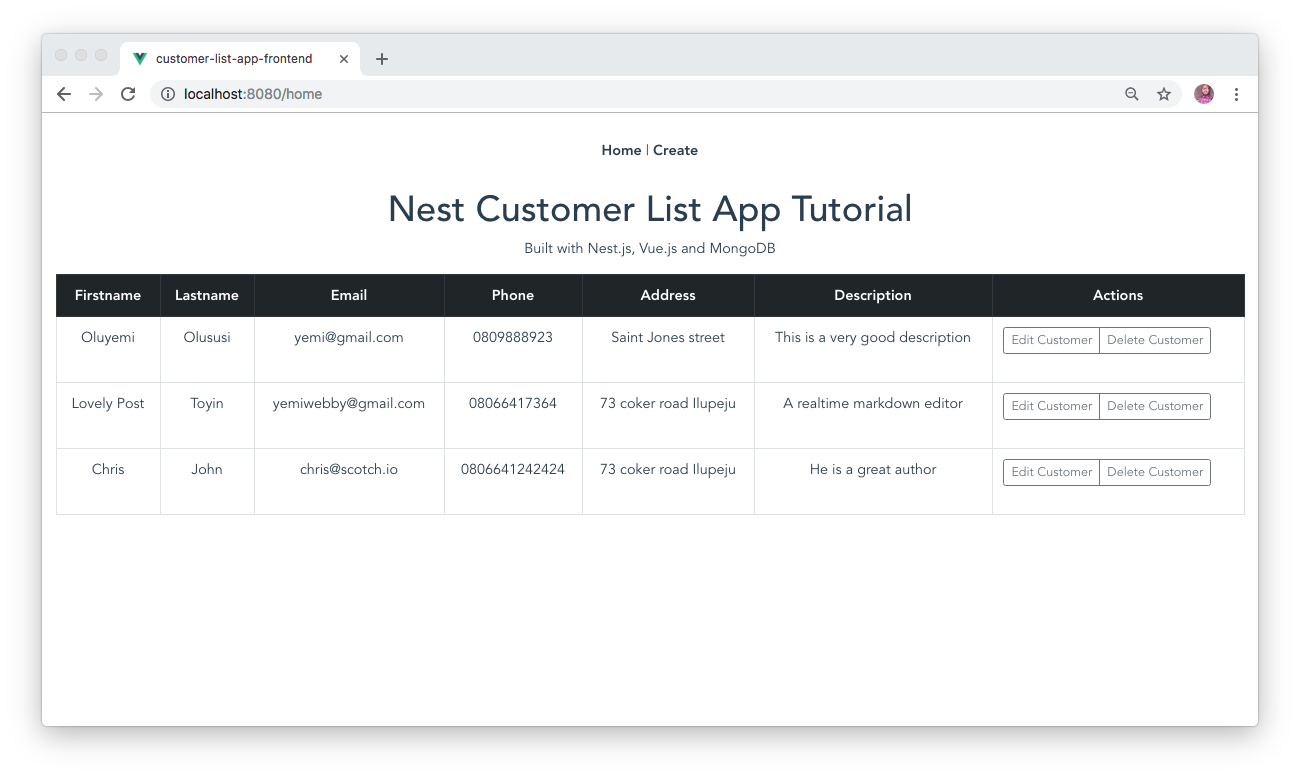 Building a modern app using Nest js, MongoDB and Vue js | PHPNews