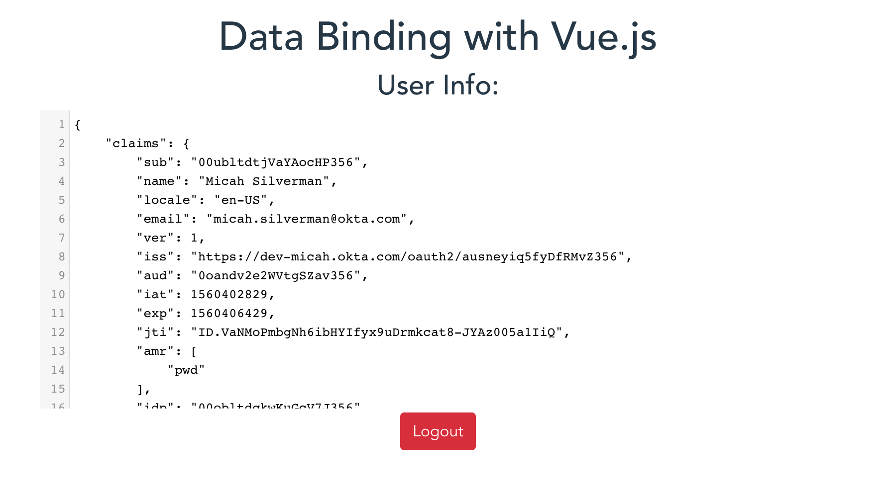 Use Vue js Data Binding Options for Reactive Applications