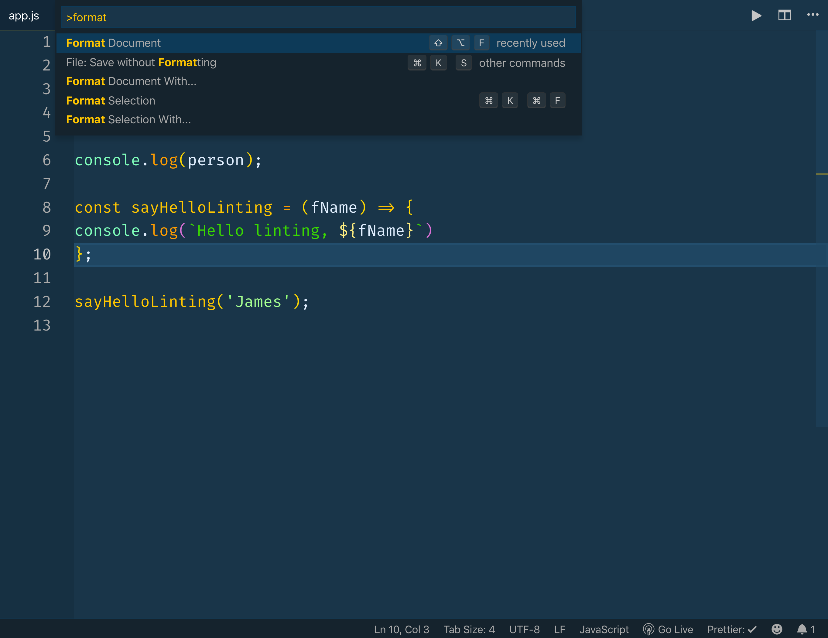 Code Formatting with Prettier in Visual Studio Code | PHPNews