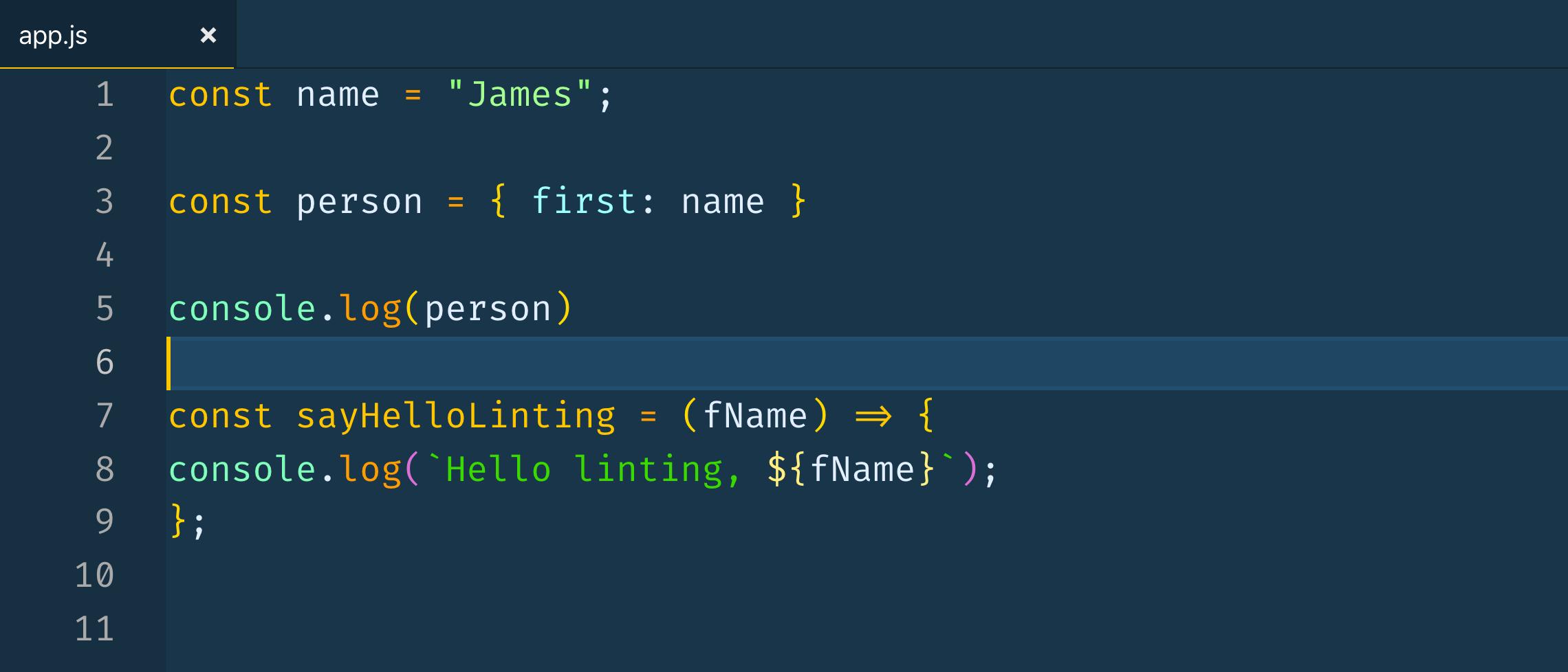 Sample JS file