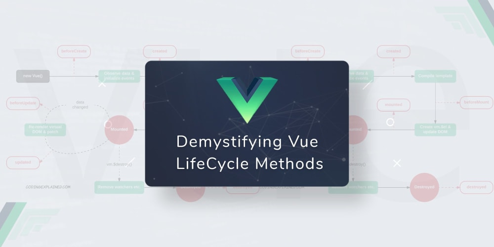 Demystifying Vue Lifecycle Methods