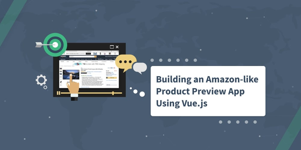 Build an Amazon-Like Product Preview App using Vue.js