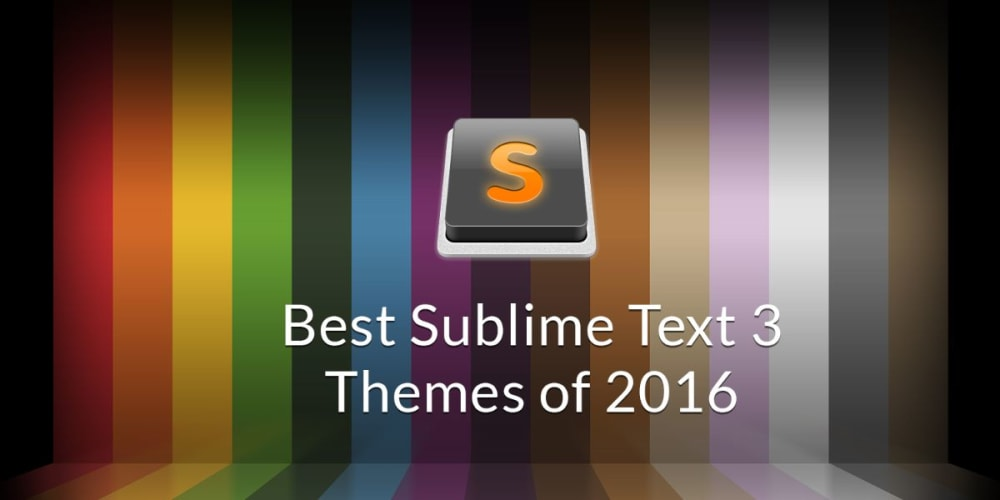 Best Sublime Text 3 Themes of 2015 and 2016