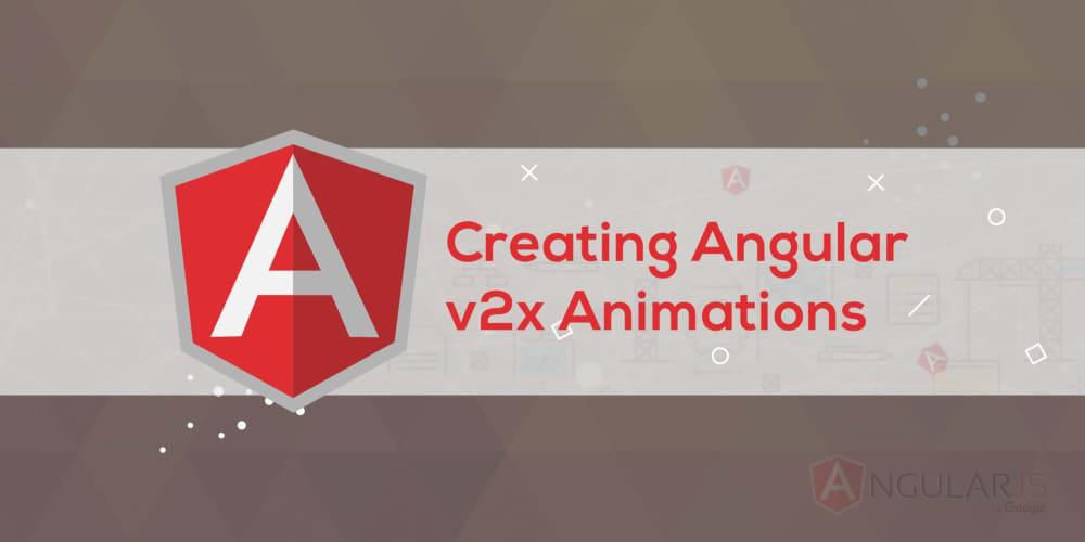 Build an Animated Angular v2+ Dashboard