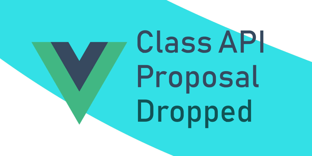 Class Components in Vue are No Longer Happening