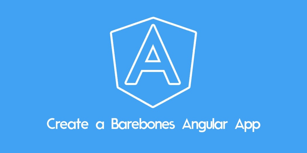 Create a Barebones Angular App with the --minimal Flag