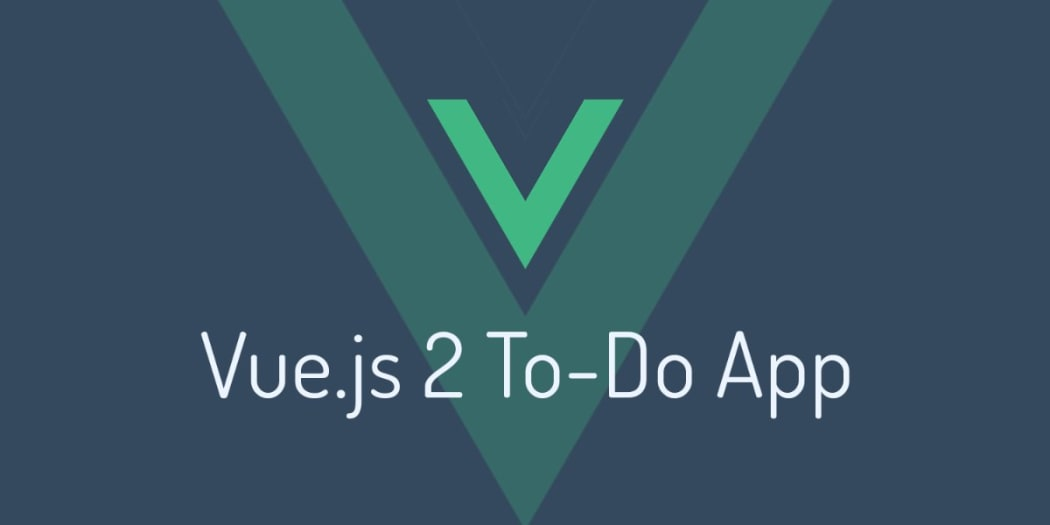 Build a To-Do App with Vue js 2 ― Scotch io