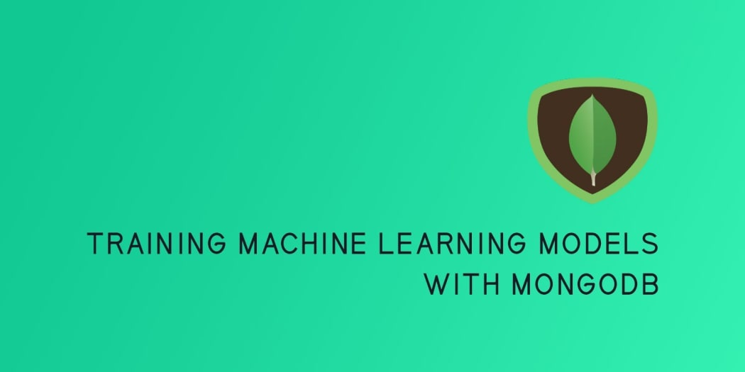 Training Machine Learning Models with MongoDB