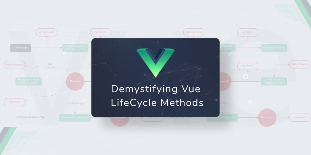 Demystifying Vue Lifecycle Methods ― Scotch io