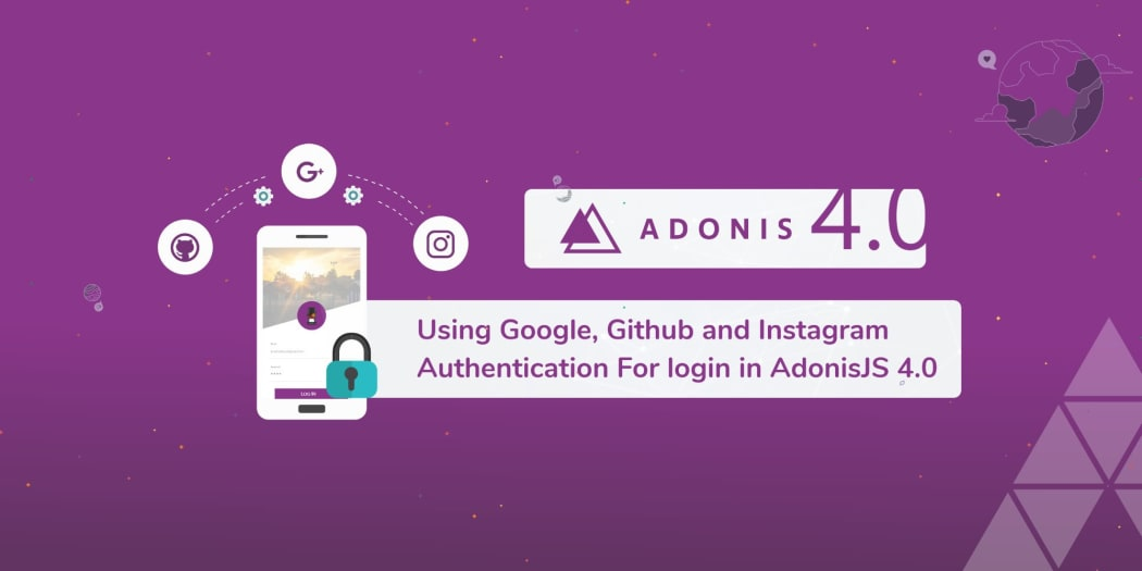 Using Google, Github and Instagram Authentication for Login