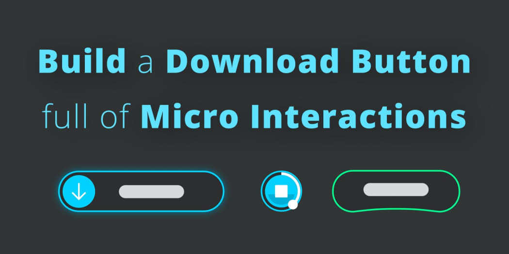 Build a Download Button Full of Micro Interactions ― Scotch io