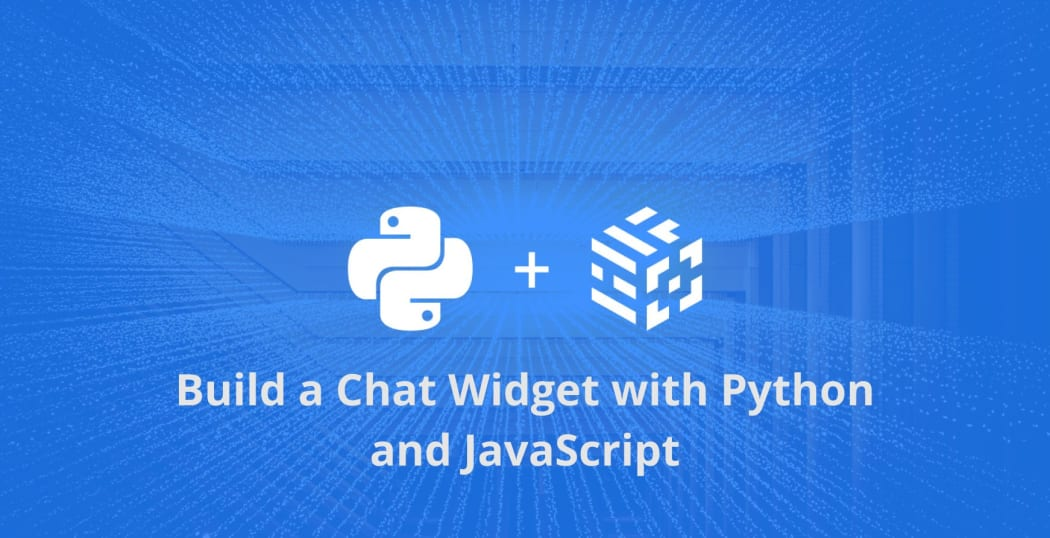 Build a Chat Widget with Python and JavaScript ― Scotch io