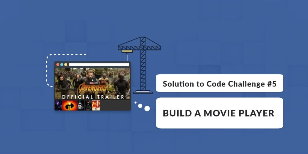 Build A Movie Player with Vue js (Solution to Code Challenge
