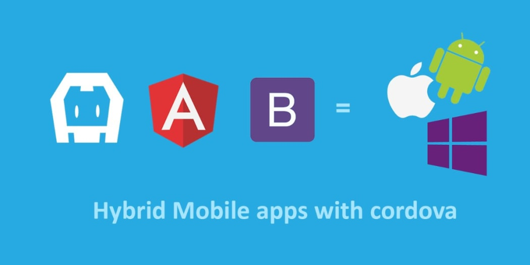 Building hybrid mobile apps using cordova and angularjs for