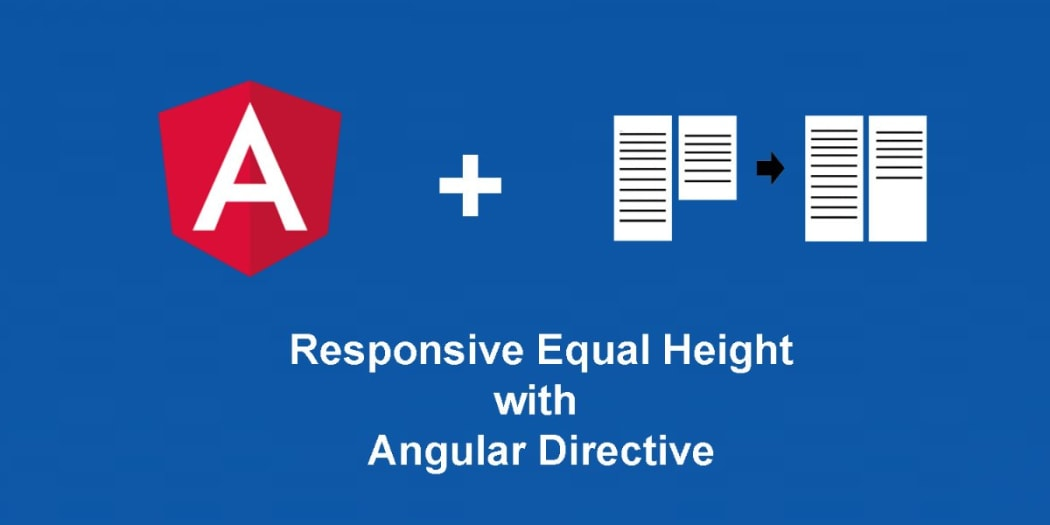 Responsive Equal Height with Angular Directive ― Scotch io