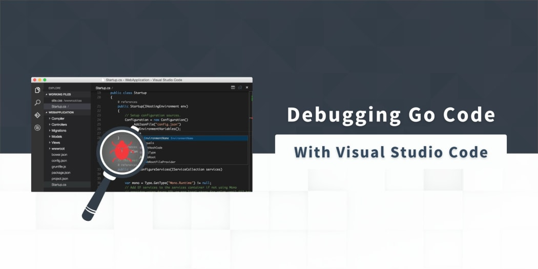 Debugging Go Code with Visual Studio Code